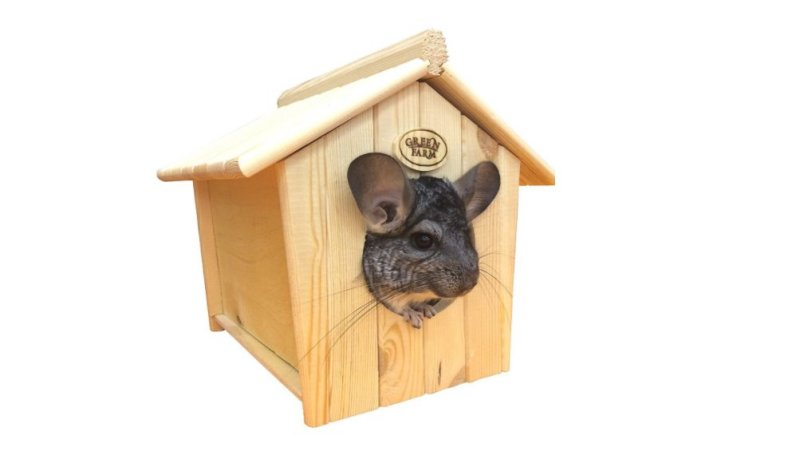 Product photo: Chinchilla Bath House Hideout