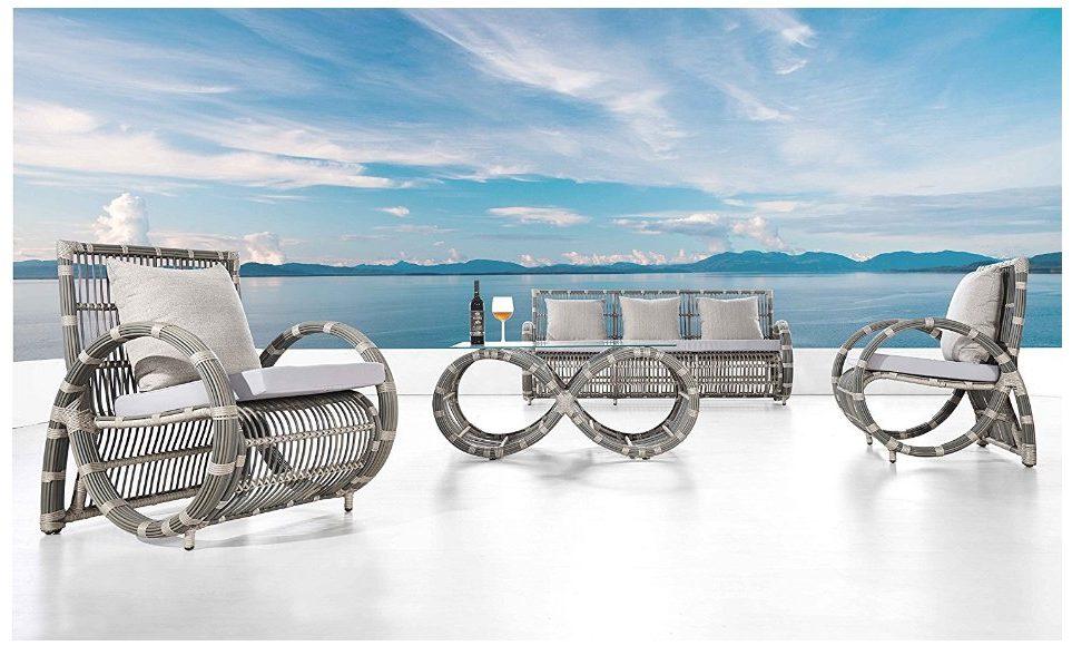 Amazon product photo: Ceets Infinity Conversation Lounge Set