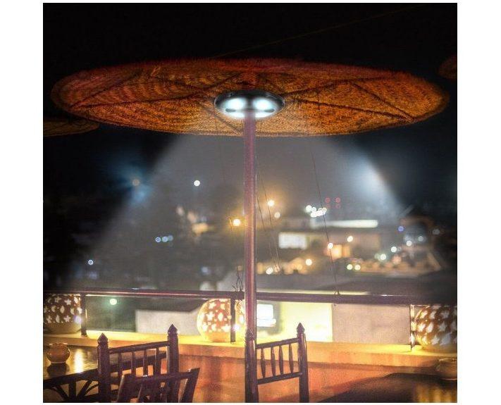 Patio LED Umbrella Light with Bluetooth Speaker